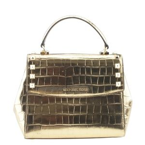 Michael Kors Karla Embossed Croc 2-Way Bag 167931